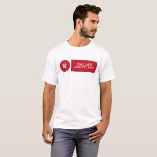 T-shirt Dallar a accepté ici la chemise