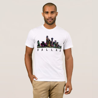T-shirt Dallas dans le graffiti