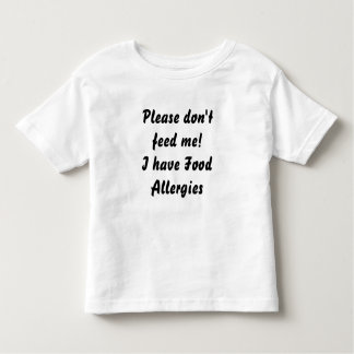 T-shirt d'allergie alimentaire