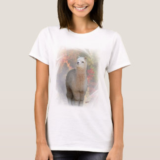 T-shirt d'alpaga de chute