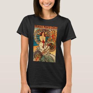 T-shirt d'Alphonse Mucha Monaco Monte Carlo