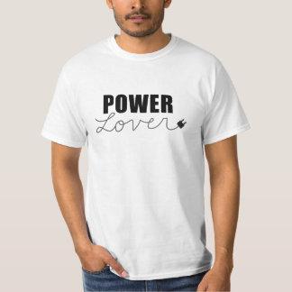 T-shirt d'amant de puissance