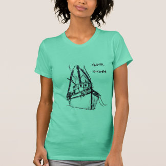 T-shirt DAME d'abeille de Nora