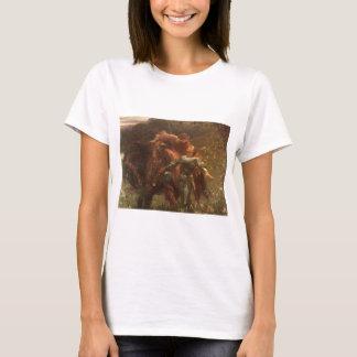T-shirt Dame de belle de La sans Merci par monsieur Frank
