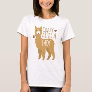 T-shirt Dame folle d'alpaga