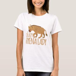 T-shirt dame folle d'hyène