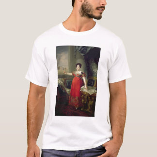 T-shirt Dame Maria Isabel de Braganza, 1829 de la Reine