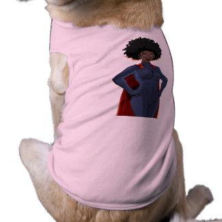 T-shirt dame superhéros