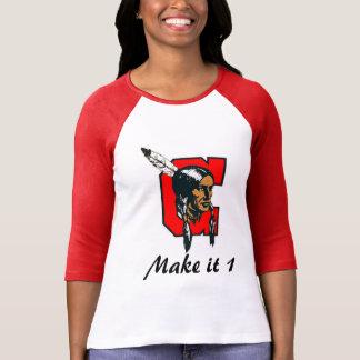 T-shirt Dames centrales de HS 3/4 douille TR1BE PR1DE