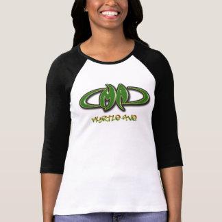 T-shirt Dames d'avenue du Myrte raglanes