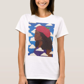 T-shirt Dames de base t de béret de framboise