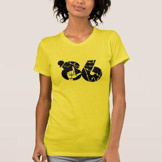 T-shirt Dames de chemise de puissance de personnes