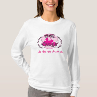 T-shirt Dames de Conga de WWR - longue douille de Hoody