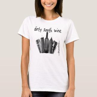 T-shirt Dames du sud sales T de vin (avec le texte