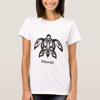 T-shirt Dames hawaïennes de tortue de Honu T-Courtes
