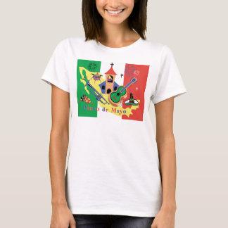 T-shirt Dames heureuses de Cinco De Mayo