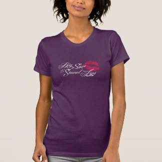 T-shirt Dames pourpres T de vendredi de caves de Fernwood