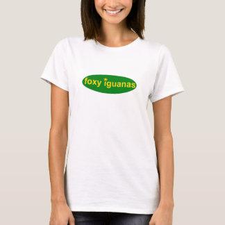 T-shirt dames rusées t d'iguanes