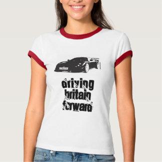 T-shirt Dames T-Chemise-conduire-Grande-Bretagne-en avant