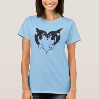 T-shirt Dames T d'amour d'orque