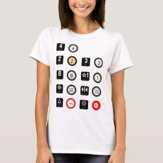 T-shirt Dames T d'ascenseur