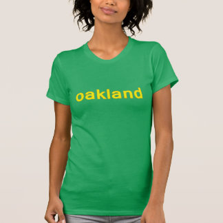 T-shirt Dames t d'Oakland la Californie
