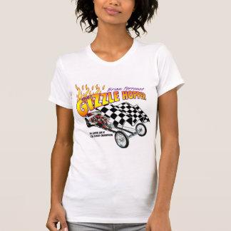 T-shirt Dames Twofer de trémie de Gizzle pur (adapté)
