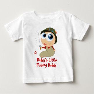 T-shirt d'ami de la pêche du papa