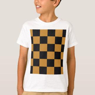 T-shirt Damier mûr de moutarde
