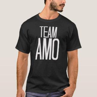 T-shirt d'AMO d'équipe dans le noir