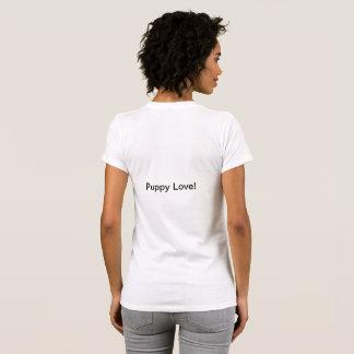 T-shirt d'amour de chiot !