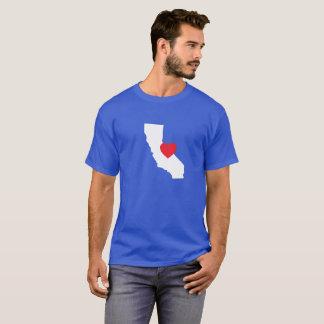 T-shirt d'amour de la Californie