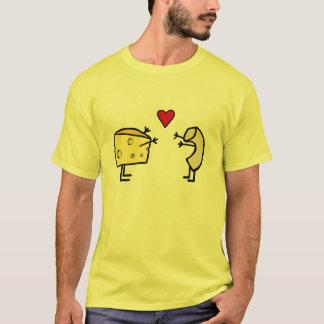 T-shirt d'amour de macaronis et de fromage