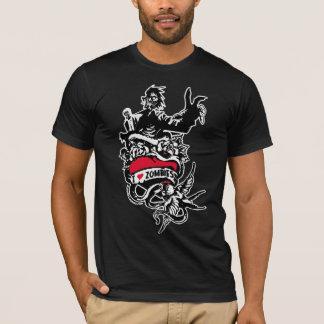 T-shirt d'amour de zombi