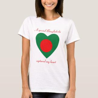 T-shirt d'amoureux de drapeau du Bangladesh