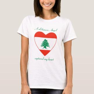 T-shirt d'amoureux de drapeau du Liban