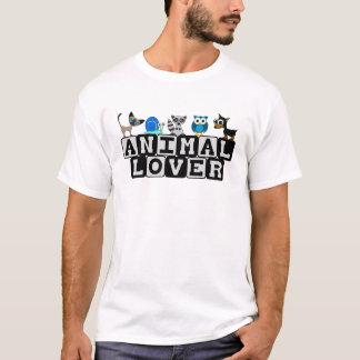 T-shirt d'amoureux des animaux