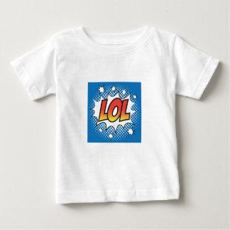 T-shirt d'amusement d'art de bruit de LOL, bariolé
