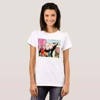 T-shirt d'amusement de basse cour