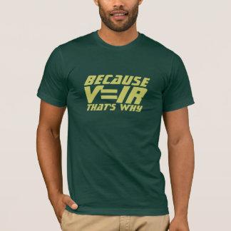 T-shirt d'analyse de circuit d'électrotechnique