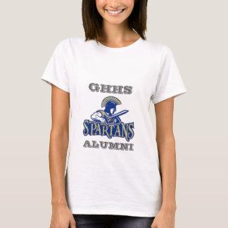 T-shirt d'anciennes élèves de lycée de collines de