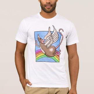 T-shirt d'ange de rat