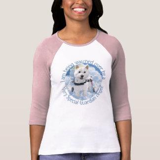 T-shirt d'ange gardien de Hailey dans le rose