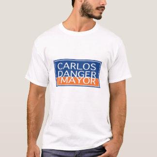 T-shirt Danger de Carlos pour le maire - hommes