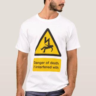 T-shirt Danger de la mort