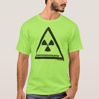 T-shirt Danger radioactif (RUS)