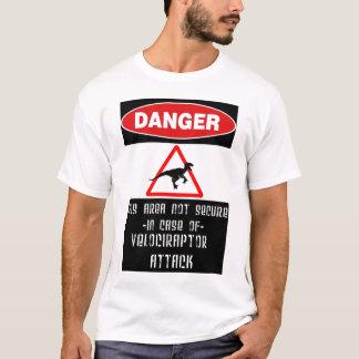 T-shirt Danger : Raptors