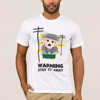 T-shirt Danger - séjour 17' loin