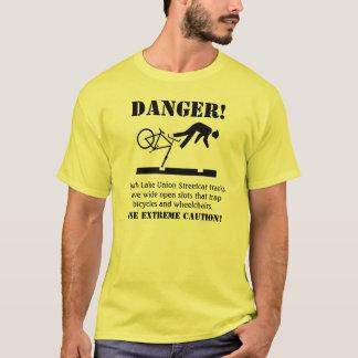 T-shirt DANGER ! Voies dangereuses