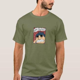 T-shirt Dangereux fou de boom d'harmonie !